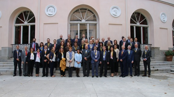 Group picture of the participants in the CPB-Network meeting held in Madrid